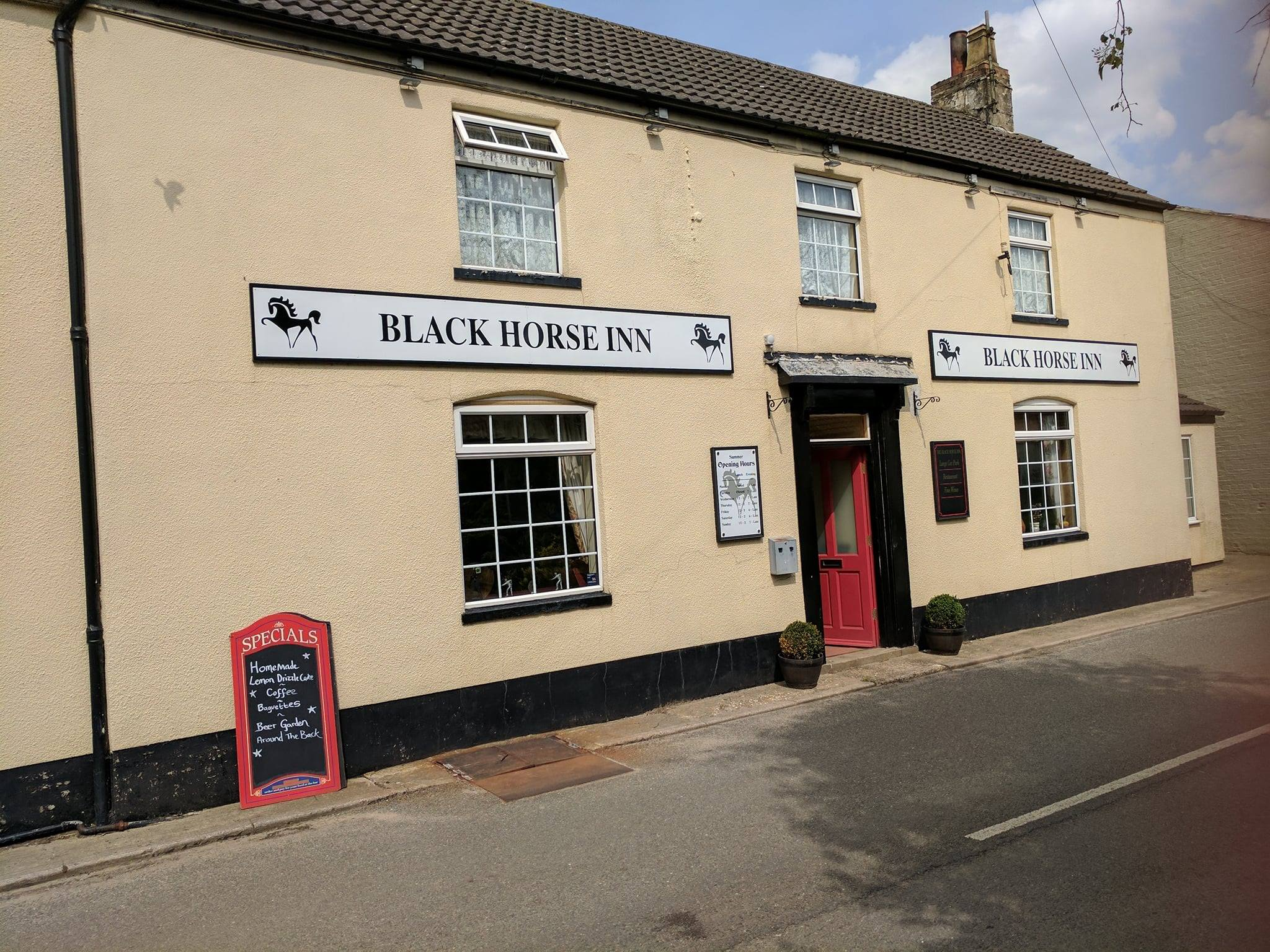 The Black Horse Inn - 10 of the Best Lincolnshire Gastropubs You've Probably Heard Of - The Yellow Belly