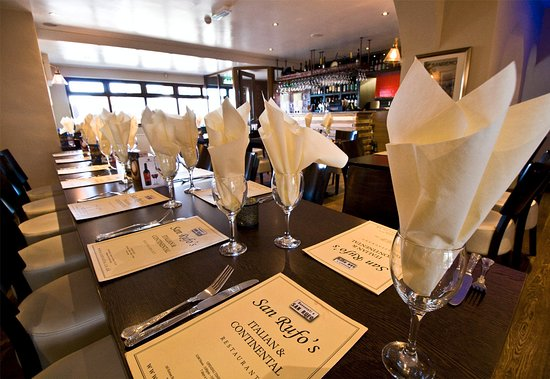 San Rufo's - The Top 10 Italian Restaurants in Lincolnshire - The Yellow Belly