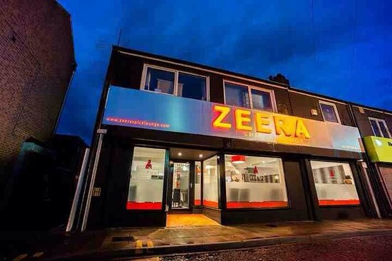 Zeera Spice Lounge - The Top 10 Indian Restaurants in Lincolnshire - The Yellow Belly